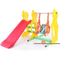 Горка Baby Care Gippo Slide + Rabbit Swing SL-13